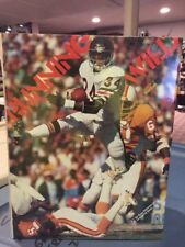 """""""RUNNING WILD"""" Pictorial Tribute NFL's Greatest Runners WALTER PAYTON NEW Pics"""