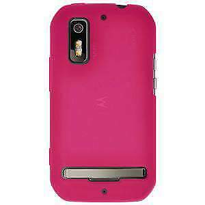 AMZER Hot Pink Silicone Skin Jelly Case For Motorola Photon 4G MB855