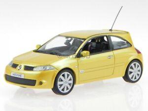 Renault Megane RS 2004 jaune véhicule miniature 517635 Norev 1:43
