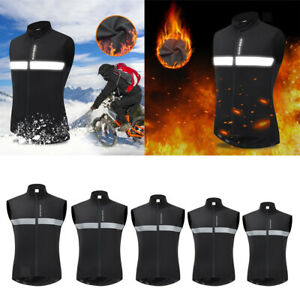 Reflective Vest Cycling Vest Windproof Bicycle Gilet Bike Jersey High Visibility