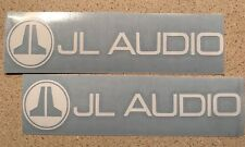 (2) JL Audio Decals Sticker 47 Color Options