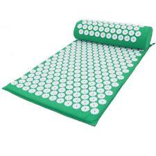 Massager Cushion Acupuncture Set Mat/Pillow Relieve Stress Back Pain Acupressure