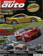 sport auto 11/07 2007 BMW M5 Alfa 8C Competizione CLS 63 AMG Irmscher Opel GT