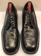 Franceschetti Barneys NY Men 46 EU 12 US Plain Toe Oxfords Black Italy Handmade