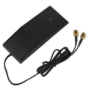 6dBi Wireless Antenna WiFi Bluetooth PC LAN Signal Extender Swivel Stand RP-SMA