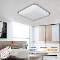 36W Deckenleuchte LED Deckenlampe dimmbar Wohnzimmerlampe Beleuchtung Panel IP44