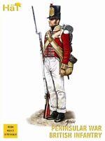 HAT 8186 1/72 PENINSULAR WAR BRITISH INFANTRY 92 PLASTIC FIGURES MIB FREE SHIP