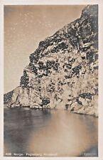 NORWAY NORGE~FUGLEBJERG NORDLAND PHOTO POSTCARD