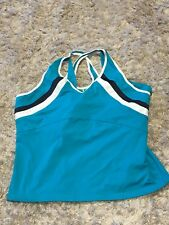 Women's Tail Tech Turquoise Tennis Top - XL (A9)