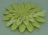 "9 x /""YELLOW/"" Paper Flower Petals by Green Tara 3 Sizes Scrapbooking Cards"