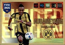 Panini Fifa 365 Cards 2017 - Pierre-Emerick Aubameyang - Limited Edition