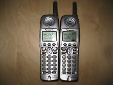 Lot of 2 Panasonic Kx-Tga520M 5.8 Ghz Cordless Expansion Handset Phone