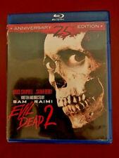 Evil Dead 2: Dead by Dawn (Blu-ray Disc 25th) Sam Raimi Bruce Campbell Horror