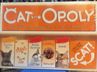 Cat-Opoly Monopoly Board Game By Late For The Sky Catopoly Feline NIB Cat Lover