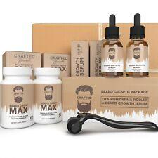 Beard Growth Bundle 2 Month Supply