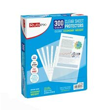 300 Sheet Protectors Holds 85 X 11 Inch Sheets