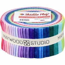 "Shadow Play ~ Peaceful ~    Maywood Studio ~ (40)   2 1/2"" Strips~ 100% Cotton"