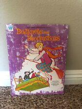 New ListingVintage Bedknobs And Broomsticks Paper Dolls Whitman Book 1971 Walt Disney