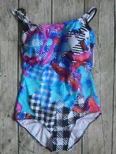 Sunflair Badeanzug Gr. 46 bis 48 Cup D  Bauchweg-Anzug  Mehrfarbig (432) NEU