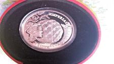 Niue 2010 2 $ CORONATION EGG I,FABERGE EGGS,, SILVER 56,56 G PROF