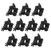 Chauvet DJ CLP-10 Light Duty Adjustable Lighting / Truss O-Clamps - 10 Pack