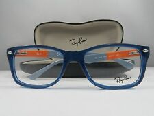 Ray-Ban RB 5228 5547 Blue-Gray-Orange New Authentic Eyeglasses 53mm w/Case