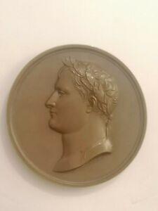Médaille Bronze Empereur Napoléon 1ère Décade du XIXème siècle 132,7 g - 68 mm