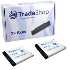 2x AKKU f. Sony Cybershot DSC-TX7 DSC-TX9 DSC-T99 NPBN1