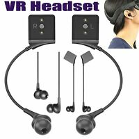 2pcs VR Headsets In-ear Earphones Headphones Replace Accessories for Oculus Rift