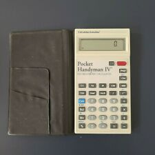 Retro Pocket Handyman Iv Calculated Industries Feet Inch Metric Calculator