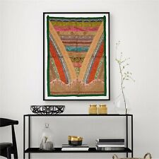 Sanskriti Vintage Handmade Tapestry Wall Hanging Bedspread Rug Ethnic Home Decor