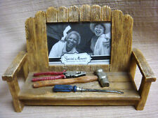 3-D WORK BENCH PHOTO FRAME for 2.5 x 3.5 Pic - Hammer / Pliers / Screwdiver