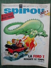 Journal SPIROU n° 1610 (52  pages) du 20 février 1969 - COMPLET +  Poster