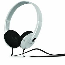 Skullcandy Stereo Headphones Uprock On-Ear Tangle Free Flat Cable White