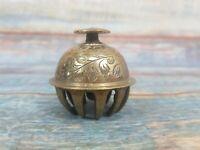 Vintage Mini Decorative Brass Bell 6cm