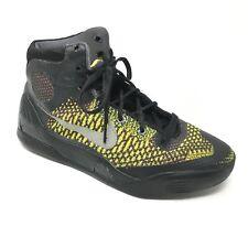 Men's Nike Kobe 9 IX Elite Shoes Sneakers Size 6 Basketball Black Yellow Gray F1