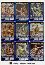 2005 AFL Teamcoach Series Blue Platinum Trading Card Team Set Hawthorn (9)