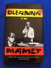 OLEANNA - FIRST EDITION BY DAVID MAMET