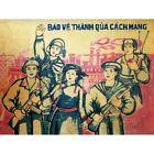 Propaganda Political  Vietnam Protect Revolution 12X16 Framed Print