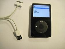 GOOD Apple iPod Classic 5th Generation (30 GB) Black MP3 Music Player A1136