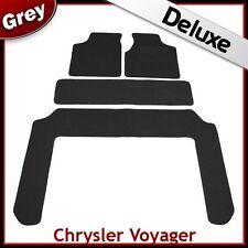 Chrysler Voyager 2001 2002 2003...2006 2007 Tailored LUXURY 1300g Car Mat GREY