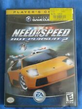 Nintendo GameCube Need For Speed Hot Pursuit 2 VIDEO GAME with Case 2001