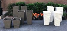 Brand New, Beautiful Planters for Sale! / Sets of Two: Indoor/Outdoor