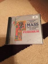 Guillaume Du Fay Mass For St. Anthony Of Padua Pomerium Archiv Produktion