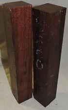 2 Granadillo Wood 2x2x11 Woodworking Turkey Calls Knife Handles Reel Seats Inlay