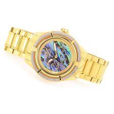 @NEW Invicta Women's Bolt Quartz Multi Function Abalone Dial Gold Tone 24452
