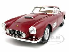FERRARI 410 SUPERAMERICA ELITE EDITION BORDEAUX 1/18 MODEL CAR HOTWHEELS T6248