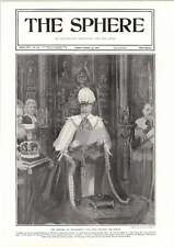 1906 The King Reading His Speech At The Opening Of Parliament