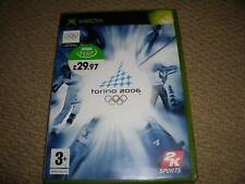 Torino 2006 Winter Olympics-Microsoft Xbox Original boxed mit Spiel Disc