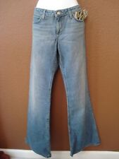 JUICY COUTURE Flare Leg Distressed Jeans NWT 31 $178